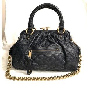 Marc Jacob's Patchwork Leather Stam Sachel Handbag
